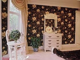 法式卧室双拼别墅设计方案