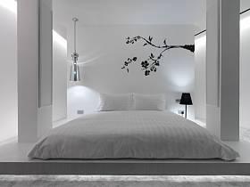 简约卧室单身公寓案例展示