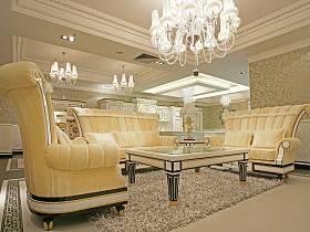 歐式客廳圖片