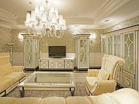 欧式客厅设计方案