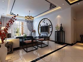 中式客厅吊顶设计方案
