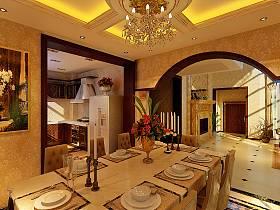 歐式餐廳別墅案例展示