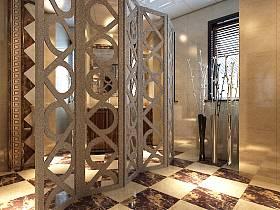 歐式別墅隔斷設計案例展示