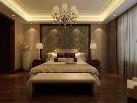 中式中式风格卧室设计案例