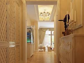 歐式歐式風格玄關走廊玄關柜裝修案例