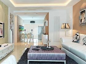 簡歐簡歐風格客廳裝修案例