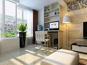 現代簡約現代簡約簡約風格現代簡約風格書房裝修案例