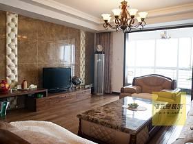 美式美式风格客厅设计案例