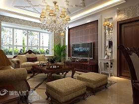 简欧简欧风格客厅背景墙电视背景墙设计案例展示
