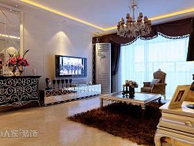 欧式欧式风格客厅背景墙电视背景墙设计案例