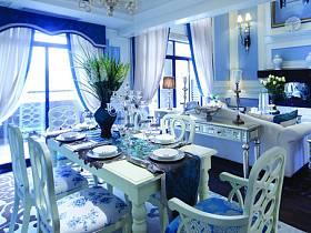 美式别墅餐桌设计案例
