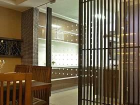 中式中式風格餐廳隔斷案例展示