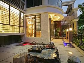 中式中式风格新中式休闲区装修效果展示
