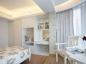 田园韩式田园风格卧室装修案例