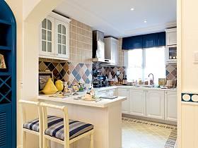 地中海地中海風格廚房別墅設計案例展示