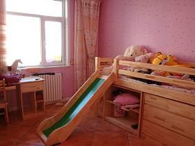 清新儿童房窗帘装修案例