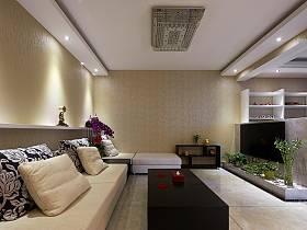 現代客廳沙發茶幾設計案例