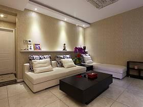 現代客廳沙發茶幾設計方案