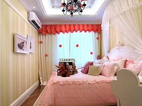 欧式欧式风格儿童房吊顶窗帘设计方案