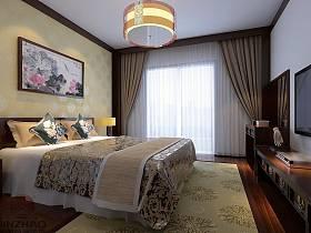 中式臥室設計圖