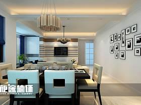 现代简约现代简约简约风格现代简约风格餐厅三居设计案例