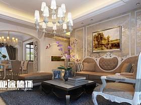 簡歐簡歐風格客廳設計案例展示