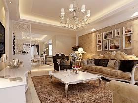 歐式客廳設計案例展示