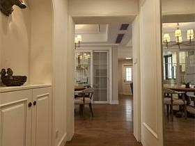 餐厅玄关过道玄关柜装修效果展示