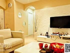 客厅背景墙电视背景墙装修案例