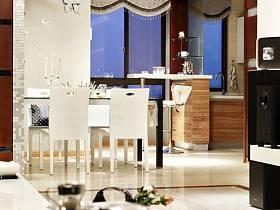 簡約客廳餐廳餐桌餐桌椅椅裝修案例