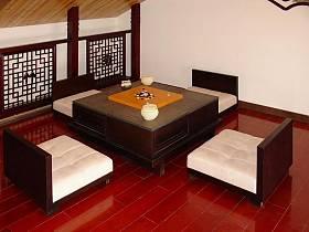中式閣樓多功能室設計方案