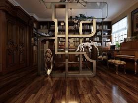 美式书房设计案例展示