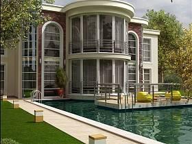 歐式歐式風格別墅案例展示