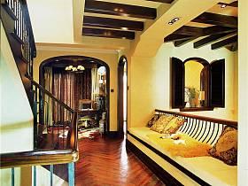 美式走廊设计方案