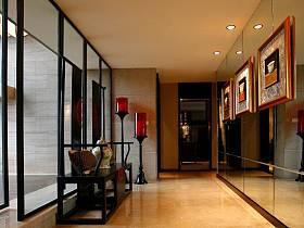 中式走廊装修案例