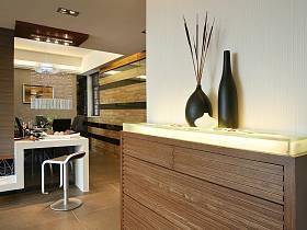 现代简约餐厅走廊设计案例