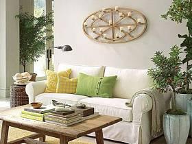 自然温馨沙发茶几设计方案