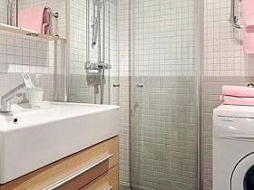 现代时尚卫浴装修图