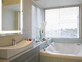 清新自然衛浴裝修案例