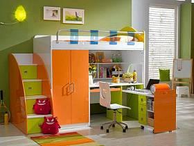現代簡約兒童房兒童房家具椅設計案例展示