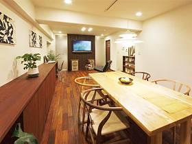 浪漫植物餐桌椅設計案例展示