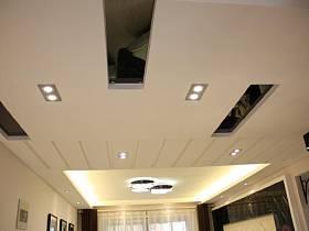 其他风格客厅餐厅过道吊顶水晶灯射灯案例展示